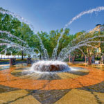Waterfront Park Fountain