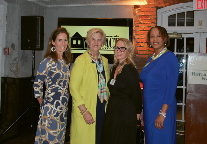 At the 2014 Women Who IMPACT Preservation fundraiser