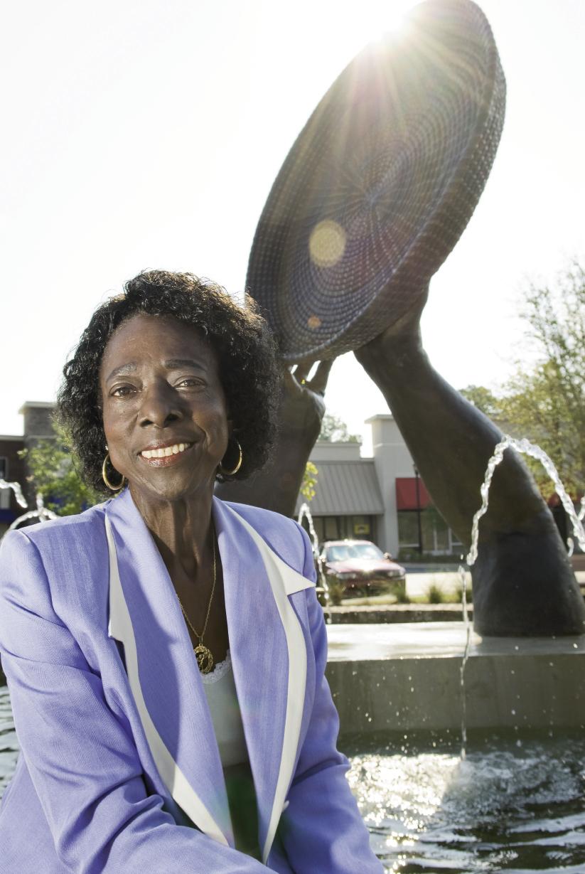 Former Mount Pleasant town council member Thomasena Stokes-Marshall