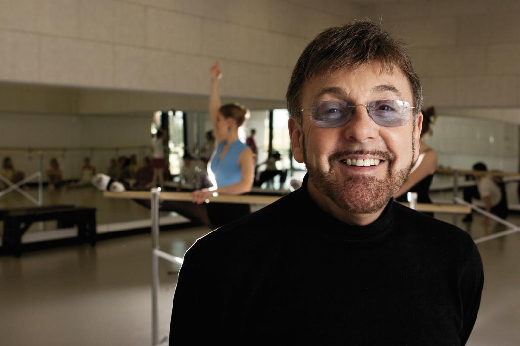 Dancer, choreographer, & artistic director Robert Ivey (1937-2011)