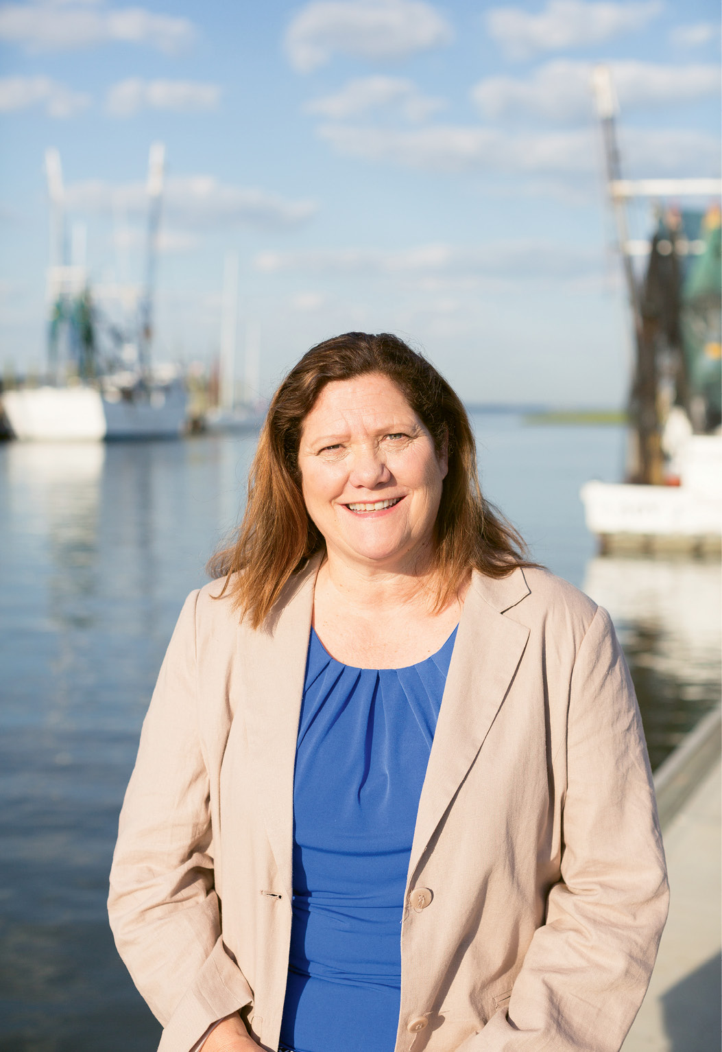 """Mount Pleasant Mayor Linda Page; in April, Town Council created a new Shem Creek Task Force to """"preserve and promote"""" the creek."""