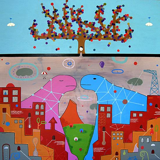 """CHM Aug 2010 Artist Profile: Brian Bustos """"Speak To Me"""""""