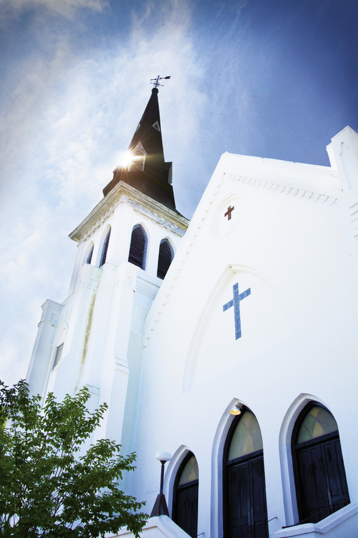 Mother Emanuel African Methodist Episcopal Church on Calhoun Street