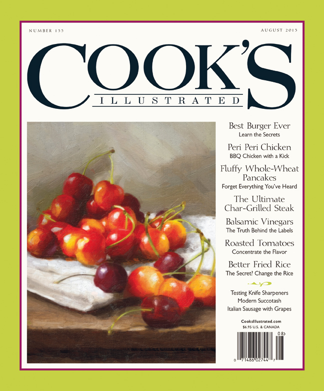 "Off the Rack ""Cook's Illustrated is one of my favorite magazines."" $7, Barnes & Noble"