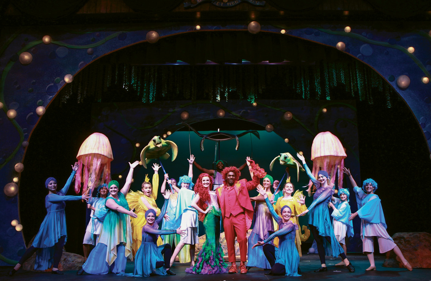 "Making Waves: Charleston Stage's production of Disney's The Little Mermaid at the Dock Street Theatre; its SummerStage Musical Theatre Camp put on a ""junior"" version as well."