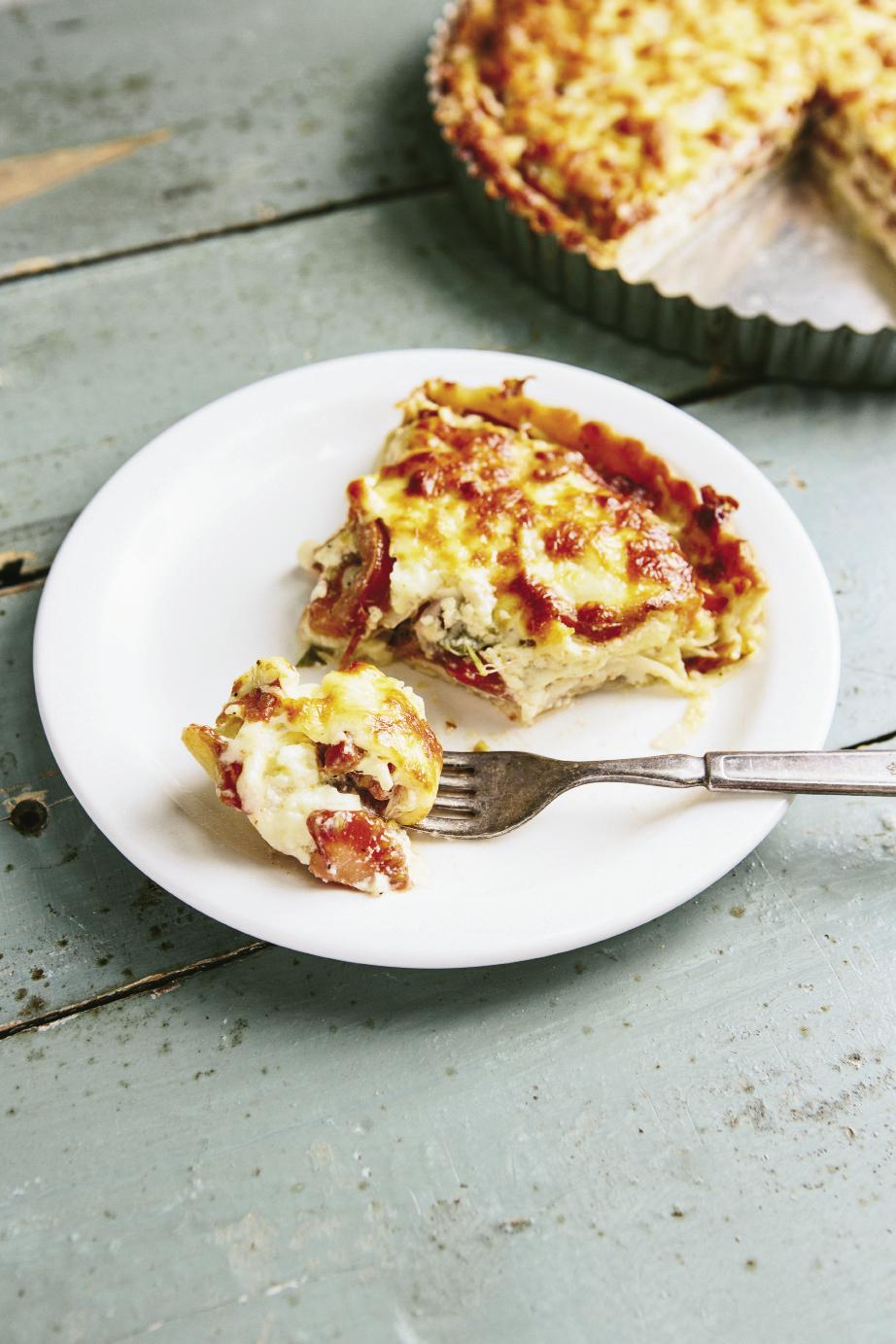Hierloom Tomato Pie