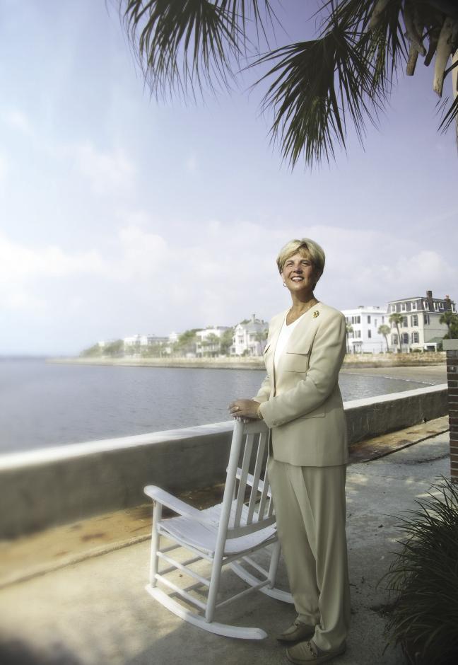 Historic Charleston Foundation director Kitty Robinson