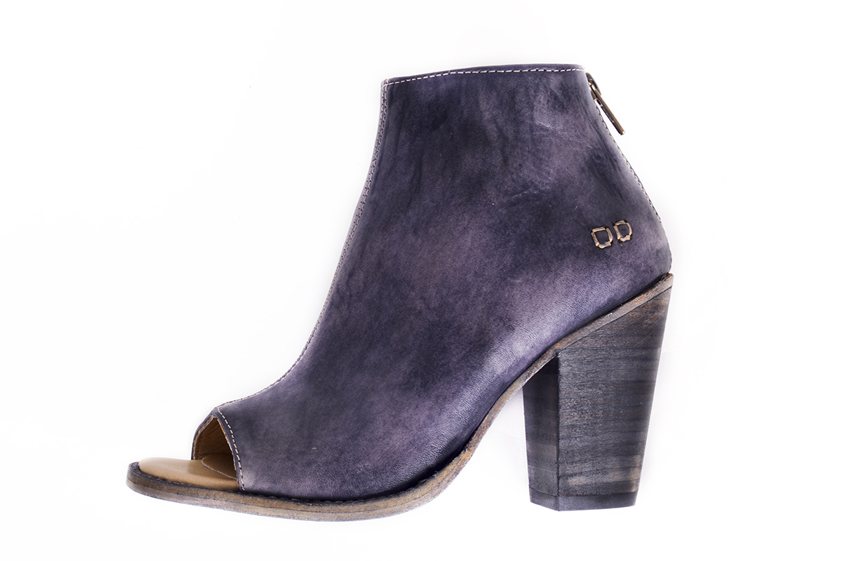 "BedStu ""Onset"" heeled ankle boot in ""black driftwood,"" $210 at Out of Hand"