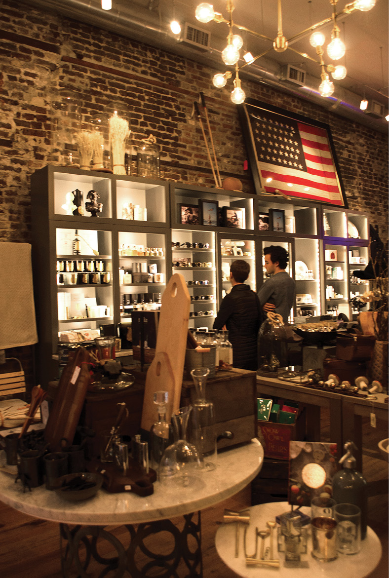 The Port Mercantile shop at The Restoration