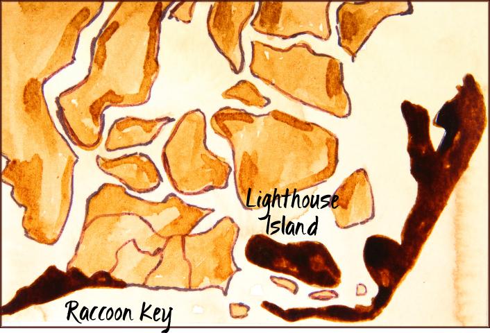 Cape Island, Lighthouse Island, & Raccoon Key