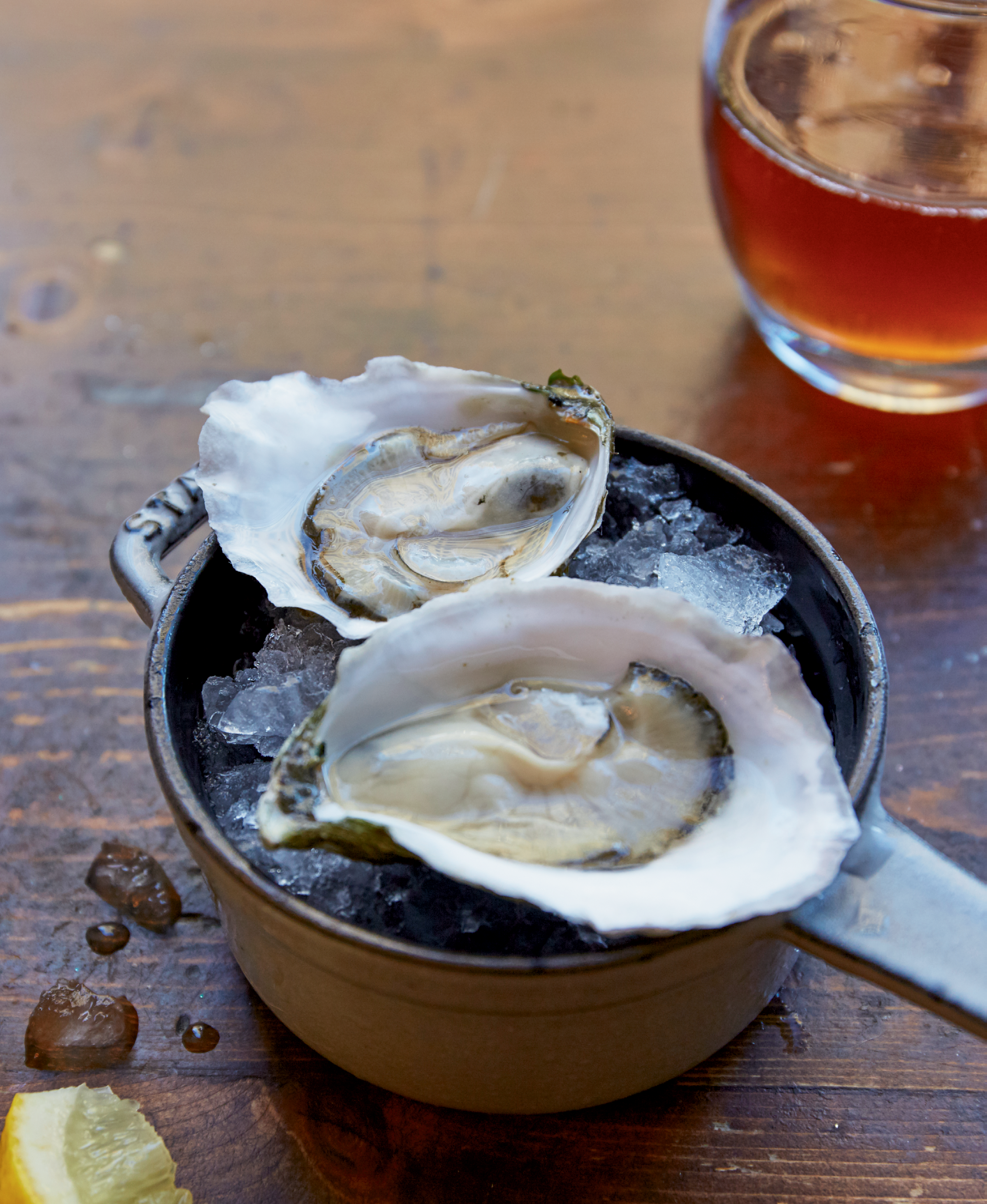 A Shell of a Time - Pristine oysters, curated wines, and national acclaim:  if it sounds like a white-tablecloth affair, Bar Normandy begs to differ.