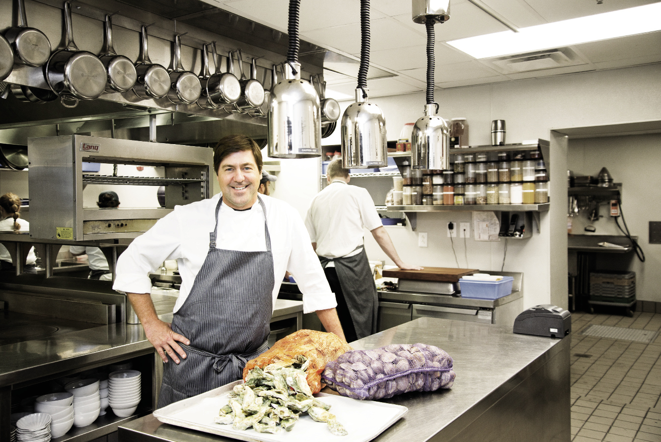 The Ordinary and FIG chef-owner Mike Lata