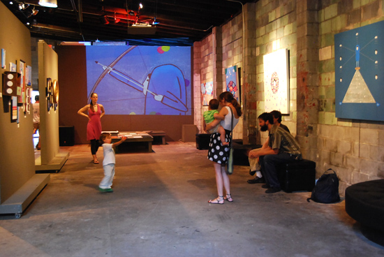 "CHM Aug 2010 Artist Profile: Brian Bustos ""Eye Level Art Show"""