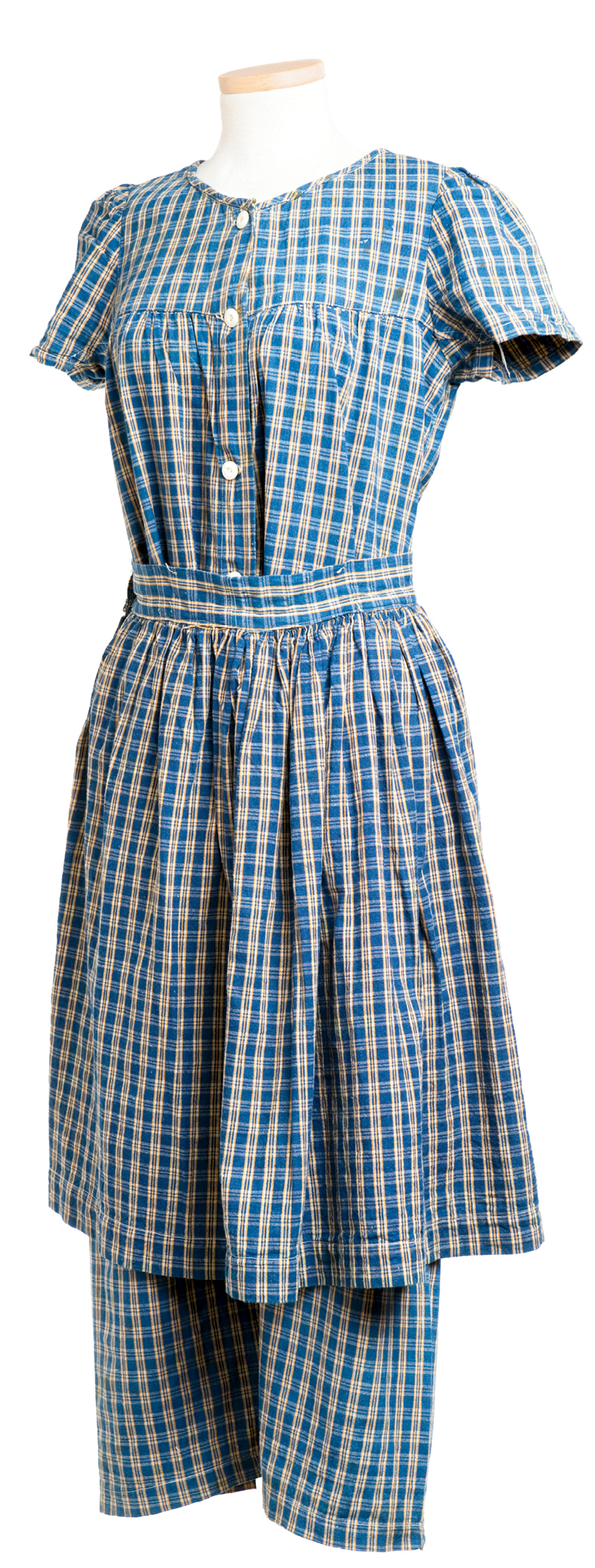 """Early 20th century - A Charleston shop called """"Clark's"""" purveyed this cotton outfit for $4."""