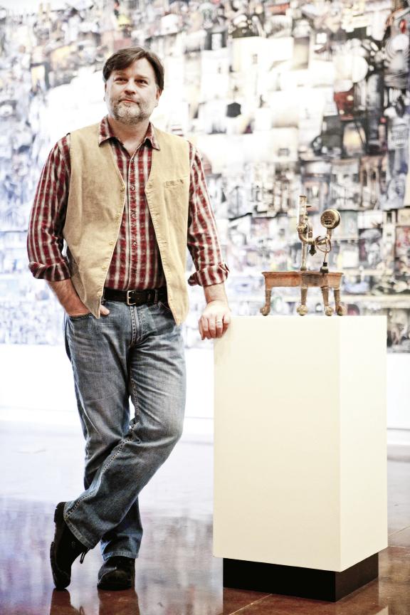 Halsey Institute of Contemporary Art director Mark Sloan