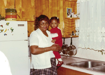 Anice's mother, Mrs. Wilhelmenia Geddis, who was the first African American to own a licensed day care in Charleston. She passed away in October 2004.