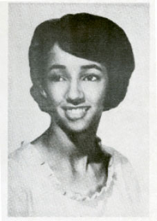 "Millicent (pictured in the 1966 Rivers High School yearbook) was mostly ostracized during her time there, saying in her oral history, ""The Rivers years... made me understand that you can survive when people don't like you. You can achieve when they don't want you. It just got me ready for the hard knocks of life."""