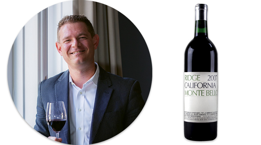 Pietro Giardini: Ridge Vineyard's Monte Bello, 2007