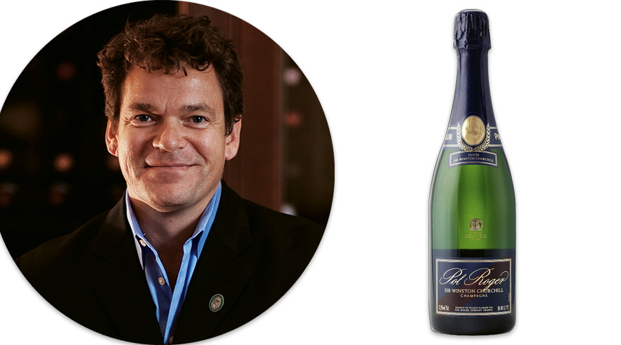 Patrick Emerson: Pol Roger Sir Winston Churchill Blue Label Champagne, 1995