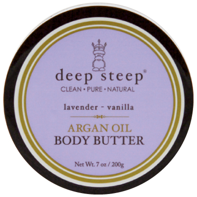 """This chemical-free, Charleston-made body butter is one of her must-have indulgences. $11, <a href=""""http://www.deepsteep.com"""">www.deepsteep.com</a>"""