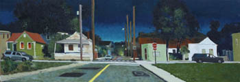 City at Night (Corner of Lee & Nassau)