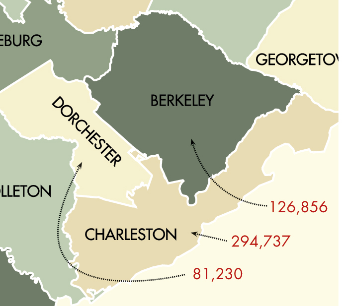 In 1989, when Hurricane Hugo struck, the Charleston Tri-County area had a combined population of just more than a half-million people.