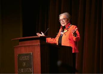 Children's Defense Fund founder Marian Wright Edelman inaugurated the series.