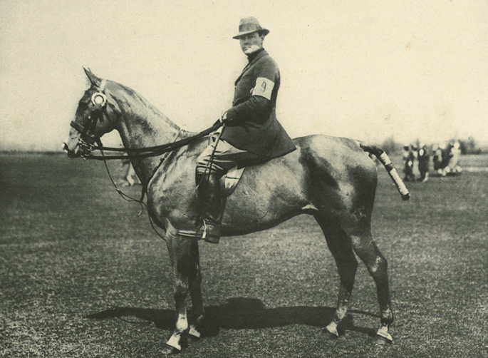 """Her brother, Stephen (aka """"Laddie"""") became a renowned polo player"""