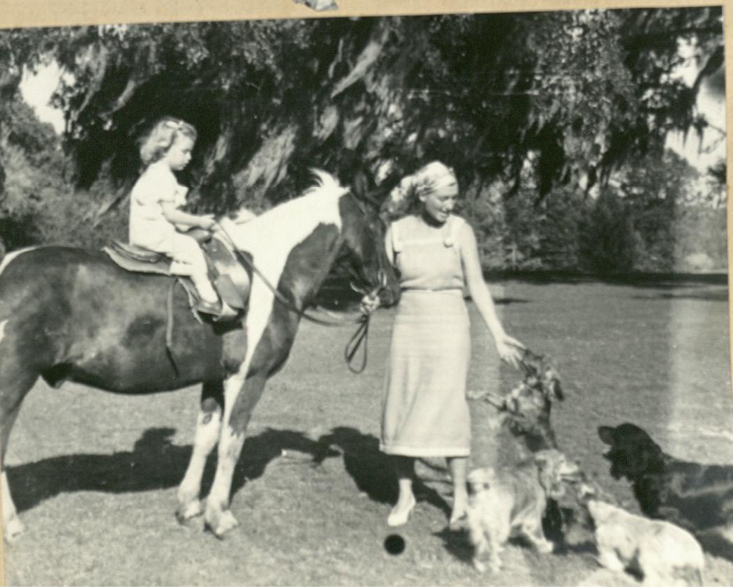 Gertrude with Landine