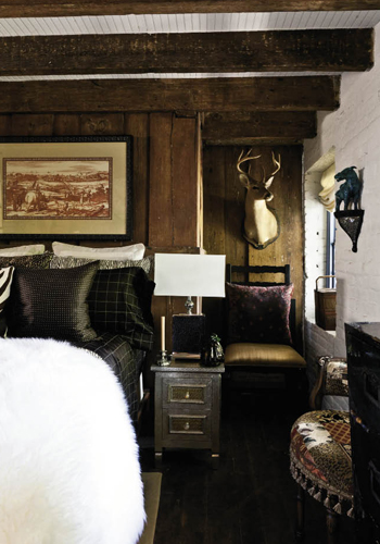 """Built to be slave quarters over the once-detached kitchen house, the guest rooms exemplify Juan and Gerald's desire to """"make visitors feel as if they are staying at a five-star hotel."""""""