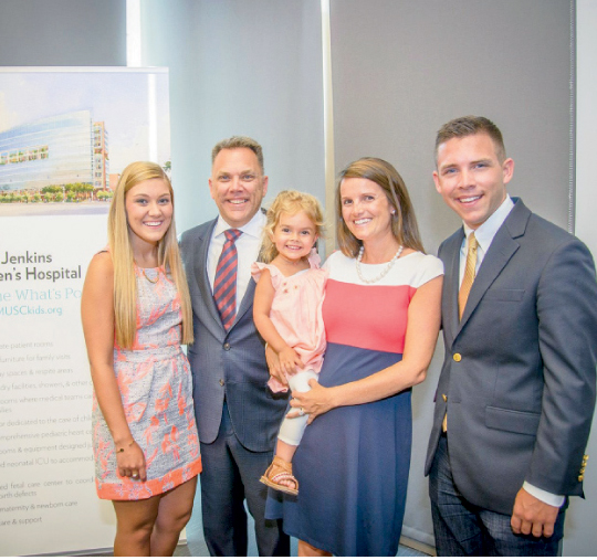 Benefitfocus CEO Shawn Jenkins  (pictured with his family)