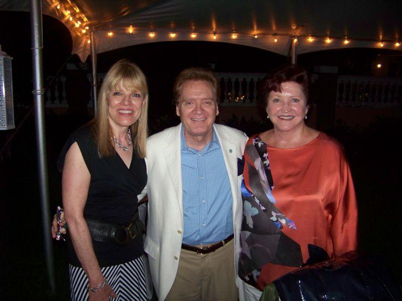 Gail Hughes, Frank Tribble, and Barbara Frank