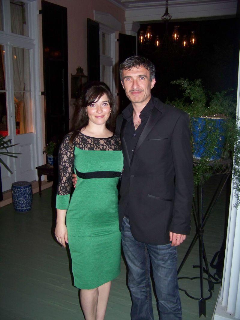 Cast members Aoibheann O'Hara and Mark O'Halloran