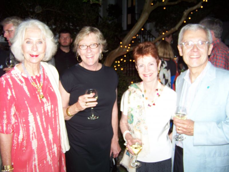 Alice Wyatt, Leigh MacNairy, Jill and Rich Almeida