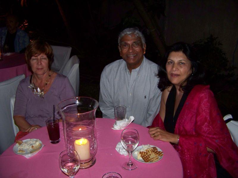 Eva Ruftelis, Sudha and Ranthi Dev
