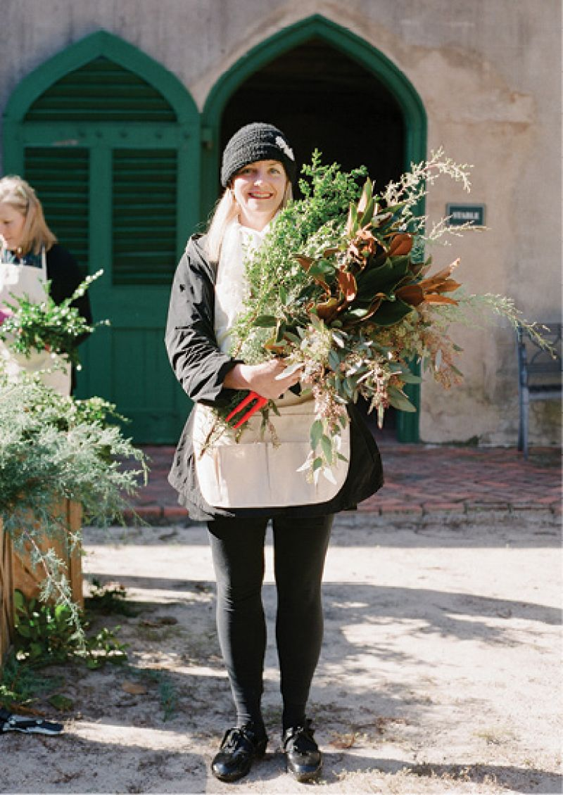 """It was amazing to get guidance from designers at the top of their game,"" says Charleston garden editor Joan McDonald."