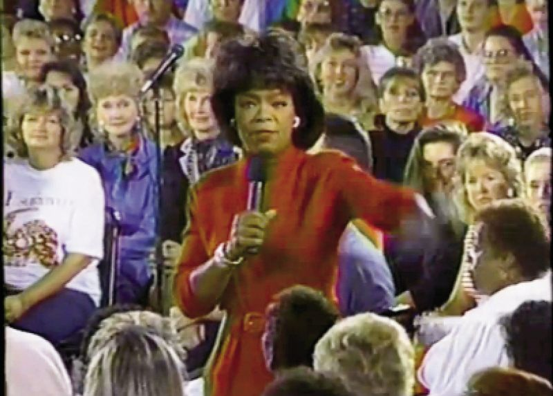 Two weeks after Hugo, Oprah Winfrey broadcast her popular daytime show from the King Street Palace theater, raising $1 million  in funds and national awareness.