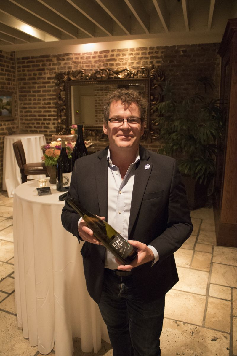 Patrick Emerson, owner of Curated Selections, provided the evening's wine selection.