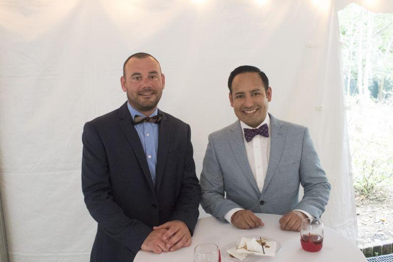 Eric Bosse and Jesus Meza