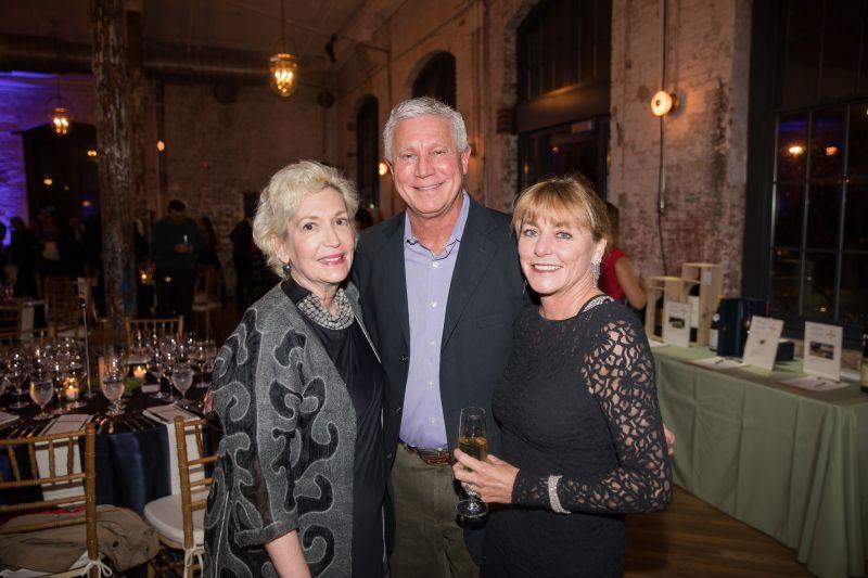 Anne Frances Bleeker with Kat and Steve Varn