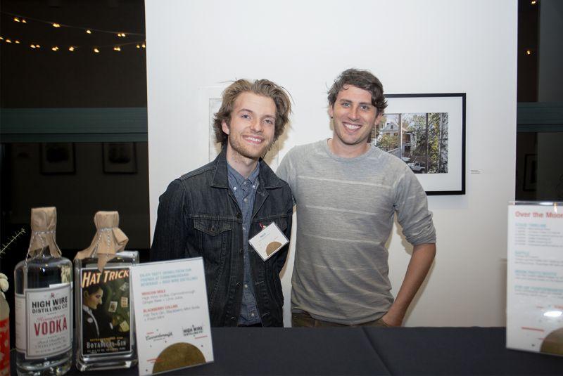 Phillip Greene and Mick Matricciano
