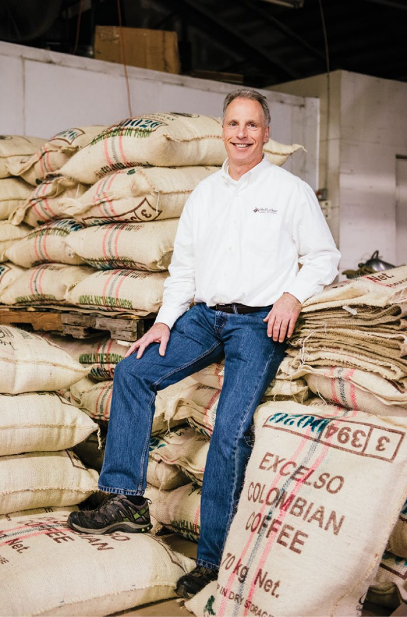 Bean There: Prior to establishing Charleston Coffee Roasters in 2005, Lowell Grosse spent 17 years learning the trade as a coffee importer.