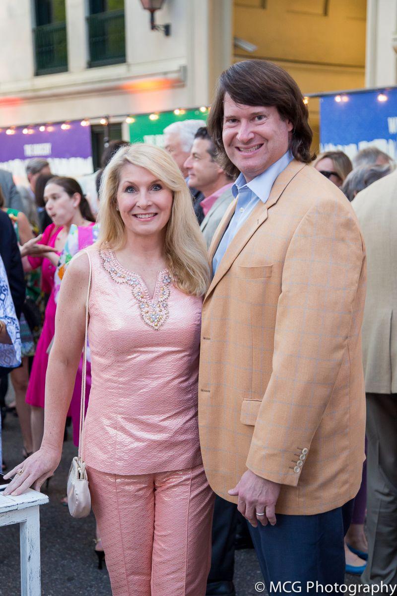 Natalie and Scott Bluestein
