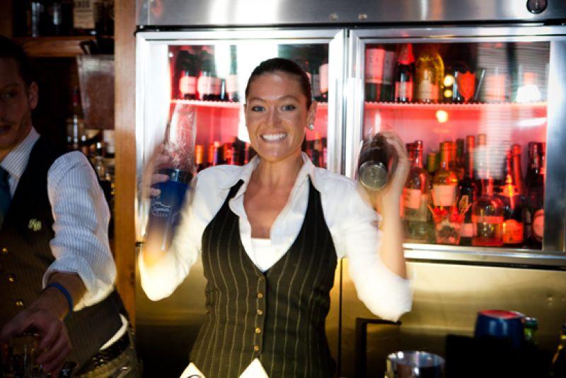 Cocktail Club beverage director, Jasmine Beck