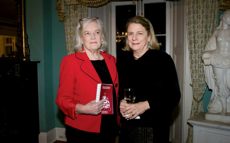 Josephine Humphreys and Phyllis Walker-Ewing, descendants of Charleston Recipes' editor and illustrator, respectively