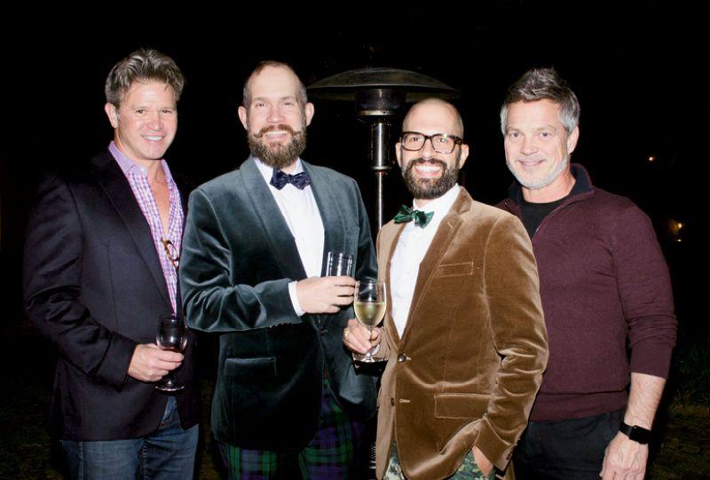 Baron McCaskill, Eric Larsen, Michael Furlong,  and Dale Huggins