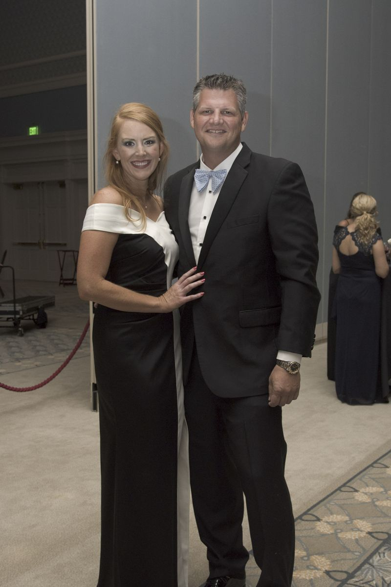 Meredith Siemens and Clint Allen