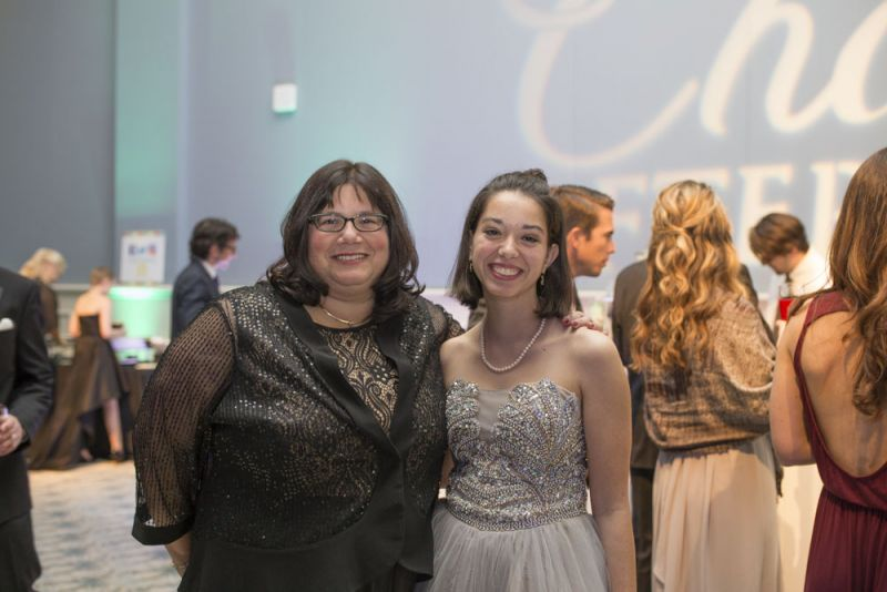 Dr. Jackie Kraveka with daughter, Emily Barros