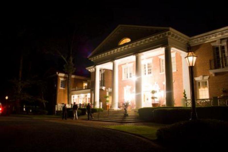 Exterior of Woodlands Mansion