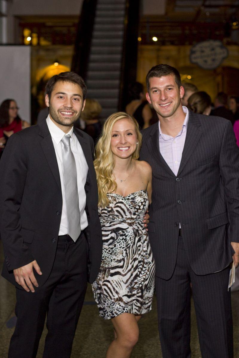 Jarrod Kazda, Manda Gunter, and Ryan Young